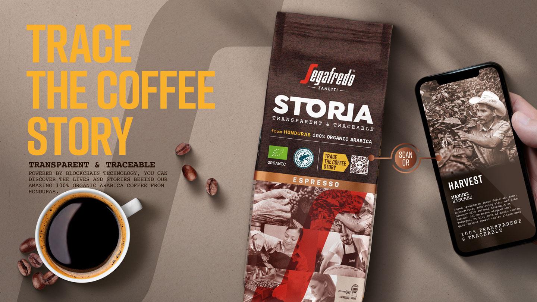 Segafredo Storia - káva s příběhem