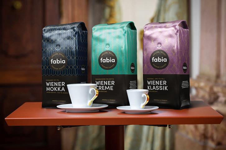 fabia - tradiční značka vídeňské prémiové kávy